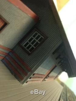 HO scale NSWGR G-4 Goods Shed based on Bombala (KIT) laser cut timber