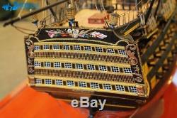 H. M. S Victory 1805 54.5 Scale 1/72 1385mm Wood Model Ship Kit