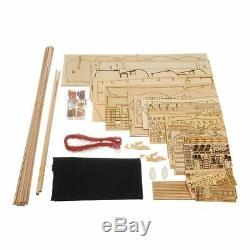 Handmade Ship 32 inch Wooden Sailing Boat Model Kit Ships wood models New Diy