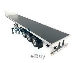 Hercules 140403 RC Semi Trailer Truck DIY KIT Model 1/14 Scale Flatbed Chassis