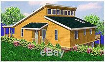 Highknob Clerestory 30x40 Customizable Shell Kit Home, delivered ready to build