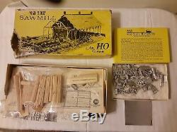 Ho Gauge Fine Scale Miniatures Sawmill Vintage Kit No. 140 New In Box