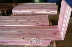 Hope Blanket Cedar Chest Kit Do-It-Yourself Woodworking Solid Wood Trunk DIY