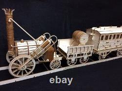 Huge Laser Cut Wooden Stephensons Rocket Train 3D Model/Puzzle Kit