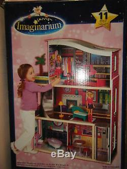 Imaginarium Glitter Barbie Doll Dream House New