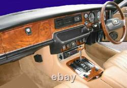 Jaguar Xjs Fit 1982- 1992 Dash Trim Kit Carbon Aluminum Wood Dashboard Parts Set