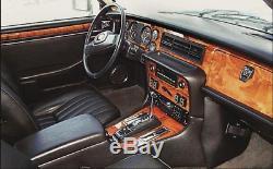 Jaguar Xjs Fit 1982 1992 Premium Dash Trim Kit Wood Dashboard Parts New Set