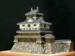 Japanese castle Wood Model Kit 1 /150 scale Iwakuni Castle Import Japan new