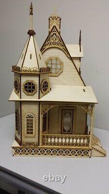 Jasmine 2 Gothic Victorian Cottage 148 Scale Dollhouse Kit