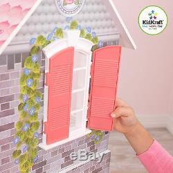 Kidkraft Magnolia Mansion, Wooden Dollhouse with Lift fits Barbie Dolls