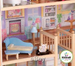 Kidkraft Majestic Mansion Large Wooden Dollhouse Fits Barbie Sized Dolls