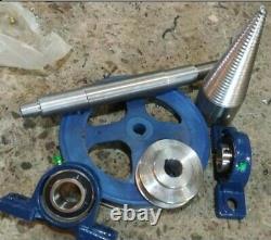 Kit Wood Splitter Splitting Firewood Screw Cones 80 mm Conical screw cleaver