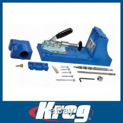 Kreg K4 256272 Pocket-Hole Jig Drill Guide Wood Joinery System Kit Woodworking