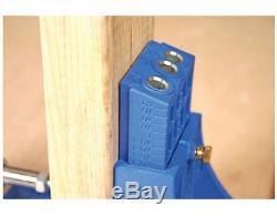 Kreg Pocket Hole System Power Tool Woodworking Wood Jointer Kit Jig Screw Drill