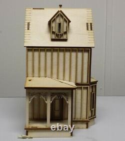 Kristiana Tudor 148 scale Dollhouse Kit Without Shingles