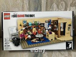 LEGO 21302 Ideas The Big Bang Theory Building Kit NEW SEALED