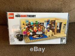 LEGO 21302 Ideas The Big Bang Theory Building Kit, NEW, US Seller