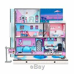 LOL Doll House With 85+ Surprises Best Large Wooden Dollhouse Kit For Girls Kids