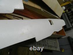 LOT of Curtiss Hawk P-6E Balsa RC airplane kit Carl Goldberg
