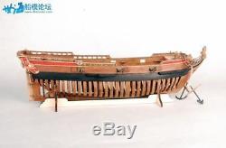 La Belle 1684 Scale 148 450mm 17.7 Full Ribs Wood Model Ship Kit Sailboat