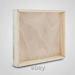 Langstroth Bee Hive 10 Frame 5 Box Beehive Beekeeping Kits 1 Deep 4 Medium Boxes