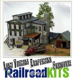 Liam Thomas Craftsman Furniture by Railroad Kits HO Scale Craftsman Structure