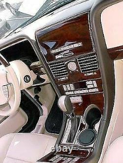 Lincoln Navigator Fit 2005 2006 New Interior Set Burl Wood Dash Trim Kit