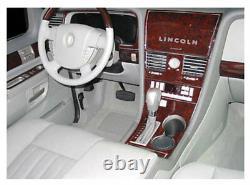 Lincoln Navigator Fits 2003 2004 New Interior Set Burl Wood Dash Trim Kit Auto