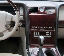 Lincoln Navigator Set Fits 2005 2006 New Style Interior Wood Dash Trim Kit 28pcs