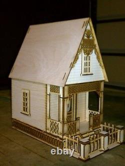 Little Ann Victorian Cottage 124 Scale Dollhouse