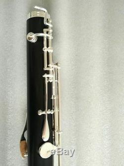 (Low C) bass Clarinet kit ebony wood Body silver Plated new