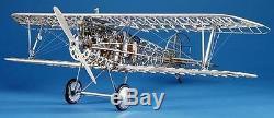 MODEL AIRWAYS ALBATROS D. Va Red Baron wood kit plane NEW