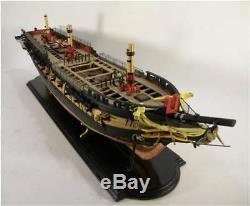 MODEL SHIPWAYS US Frigate Essex admiralty wood ship model kit NEW planked