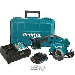 Makita SH02R1 12-Volt 3-3/8-Inch Max CXT Lithium-Ion Cordless Circular Saw Kit