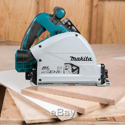 Makita XPS01PTJ (36V) Brushless 61/2 Plunge Circular Saw Kit, 5.0Ah (New)