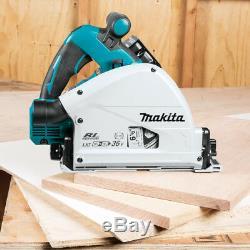 Makita XPS01PTJ 36-Volt 6-1/2-Inch X2 LXT Cordless Plunge Circular Saw Kit