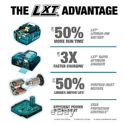 Makita XRJ06PT 36-Volt LXT 5.0Ah Lithium-Ion Brushless Reciprocating Saw Kit NEW