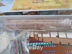 Mamoli MV30 Golden Hind 153 Scale Wood Ship Model Kit New