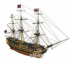 Mantua H. M. S. Victory Wooden Ship Kit Scale 1200 Lord Nelson's Flagship
