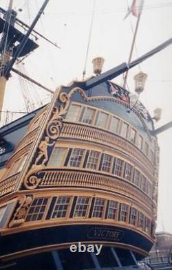 Mantua Panart HMS Victory Nelson's Flagship Wooden Ship Kit Scale 178 Length 1