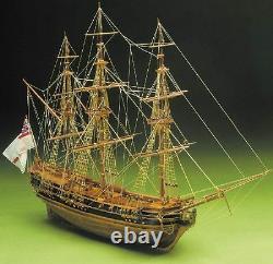 Mantua President 1750 English Frigate160 Scale Wooden Ship Kit New & Improved