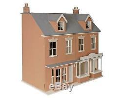 Melody Jane Dolls House 112 Double Welsh Terrace Dollshouse & Shop MDF Kit