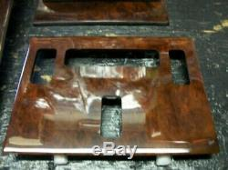Mercedes 560sl 1986 to 1989 Wood dash kit new very high quaility hand made