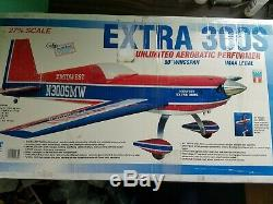 Midwest Extra 300 S Rc Airplane Kit Unbuilt Rare Remote Control 300 S Airplane