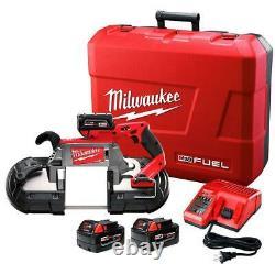 Milwaukee 2729-22 M18 FUEL 18V Deep Cut Band Saw Kit