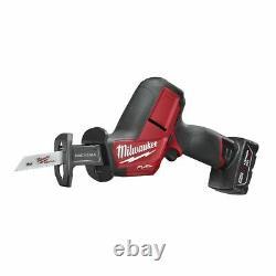 Milwaukee M12 FUEL Brushless Hackzall Reciprocating Saw Kit w 4.0 Ah 2520-21XC