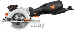 Mini Compact Circular Saw Laser Guide 4 1/2 Carrying Case Roto Cutter Tool Kit