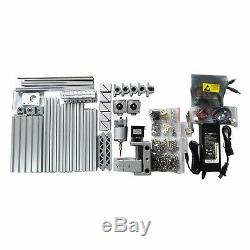 Mini DIY CNC 2418+ with ER11 Router Kit Wood Carving Engraving PCB Milling Machine
