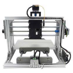 Mini DIY CNC 24x17cm Router Kit USB Desktop Metal Engraver PCB Milling Machine