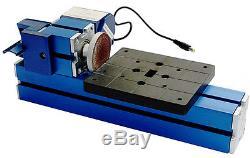Mini Metal 8 in 3 Multipurpose Machine Lathe Machine DIY Tool Wood-turning Kit